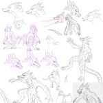 Kaiju: Slierus Sketches by Cyprus-1