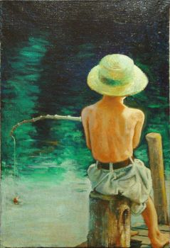 litlle fisherman by milanglo