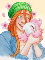 PG - Lilly's Lil Flower by PaperZombiie