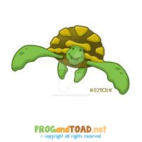 Turtle Tortue Marine FROGandTOAD by FROG-and-TOAD