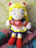 Super Sailor Moon Plush by MoonLightXAngel268