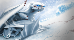 When you can't see - Frost Fury (fury sub-species) by MartinBlur