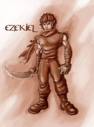 Concept Character: Ezekiel by holyghost13th
