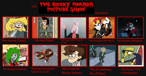 My Rocky Horror Picture Show Cast by Detective88