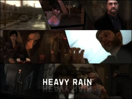 HEAVY RAIN Wallpaper by Birdie94jb