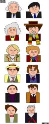Twelve Doctors Artwork 2 by ESPIOARTWORK-102