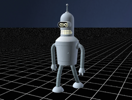Bender Walk Cycle by iconkid