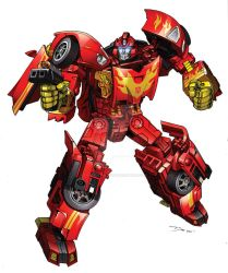 Alternator Rodimus by Dan-the-artguy
