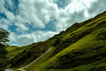 Clouds Over the Hill by AGilsonPhotography