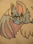 Anru The Bat Dragon by Kyrifian