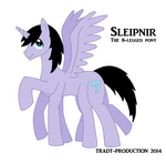 Sleipnir the 8-legged pony by TRADT-PRODUCTION