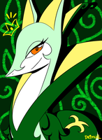 Queen Serperior by Drimull