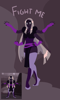 Fan fusion - Obsidian by Thea0605