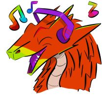My Music - My Art by AnvarDragon