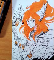 Inktober day 7 by nary-san