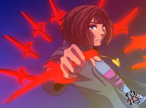 ::NMT Frisk - Determination:: by xxMileikaIvanaxx