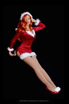 Jessica Rabbit: You Sleigh Me by MomoKurumi