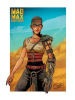 MAD MAX FURY ROAD - Imperator Furiosa by DiegoOlortegui