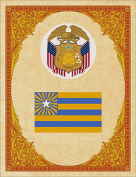 Seal and Flag of Utah by ThaDrummer