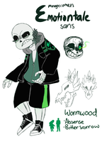 Emotiontale: Sans by MirageComet