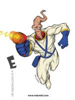 E is for EARTHWORM JIM by mdavidct