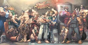 Street Fighter by zxchriszx