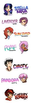 HumanizedNextGenOCs (that aren't owned by me) by kilalaaa