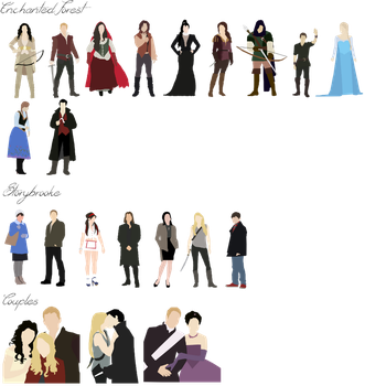 Once Upon a Time - Icons by JytteH