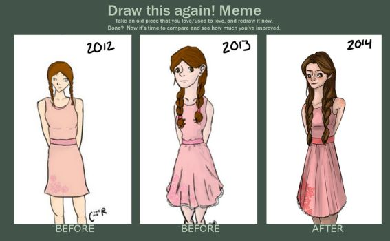 Draw It Again (again) by misspancaked