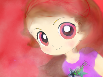:.Happy birthday-Boxing fiery(Violet).: by ppg-color-glitter101