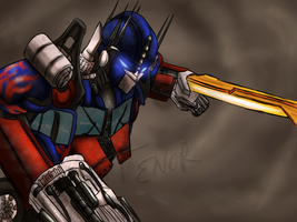 COM: Optimus Prime by Shinavar