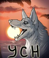 [CLOSED] YCH Head auction. by Terriniss