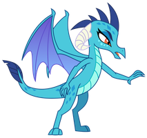 Vector - Princess Ember by SketchMCreations