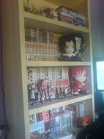 Our Manga Collection so far by l3xxybaby