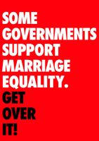 Some Governments Support Marriage Equality by kingpin1055