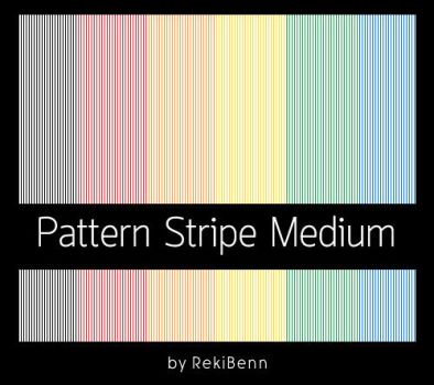 Pattern Stripe Medium by TheSeekerReki