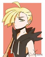 gladion by Yatsuume