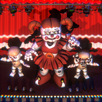 [FNAF:SL] Debut CircusBaby and BidyBabs by MangoISeI