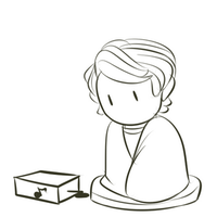 Ninjago: Lloyd with a Music Box (ANIMATED) by witch-girl-pilar