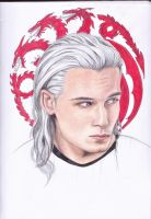 ~The Last Dragon - Rhaegar Targaryen~ by paletan