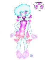 Space Alien Girl Design by SoulFullofLove