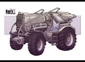 Behemoth Machine by KaranaK