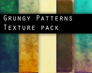 GRUNGY PATTERNS texture pack by Knald