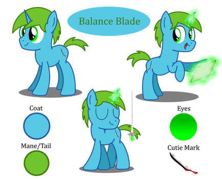 Balance Blade reference sheet by BladeDragoon7575