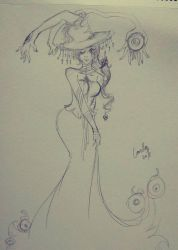 Dream quickies: Gigantic Witch by Evalice