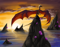 Sunset by cynder-lany