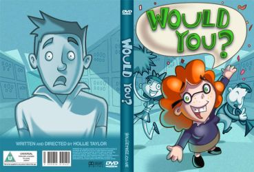 WOULD YOU? DVD cover by hollietree