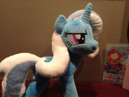 Trixie had a mane and tail by Littlestplushoppe