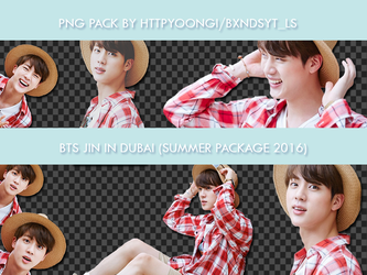 Jin in Dubai png pack by HTTPYOONGI (BXNDSYT_LS) by httpyoongi