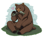 Brown Burr by A-Fistful-Of-Kittens